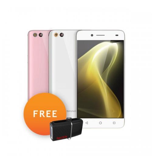 Sharp M1 ( FREE Sandisk OTG 16 GB )