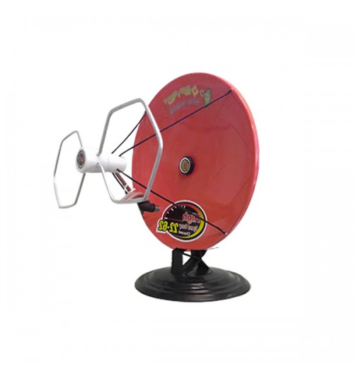 Spyro S 09 DP Antena TV Mini Parabola - Merah