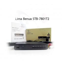 Set Top Box TV Digital DVB-T2 + EWS -  STB-7801T2