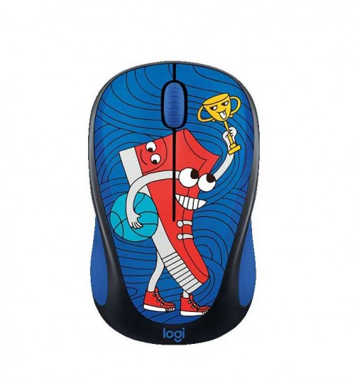 Mouse Wireless Logitech M238 Doodle Collection